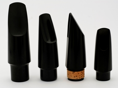 PLASTIC MOUTHPIECE BB CLARINET - NATURAL CORK