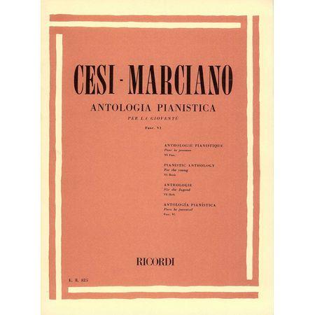 Marciano: Antologia Pianistica Per la Gioventù Ricordi Fascicolo 7° Cesi